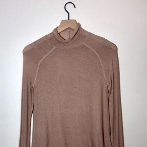 Free People Intimately Light Knit Blush Sweater